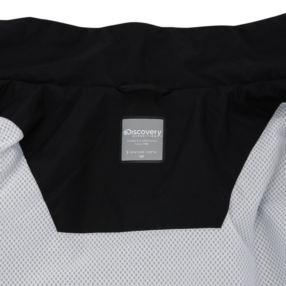 로고테잎 하이넥 방풍자켓