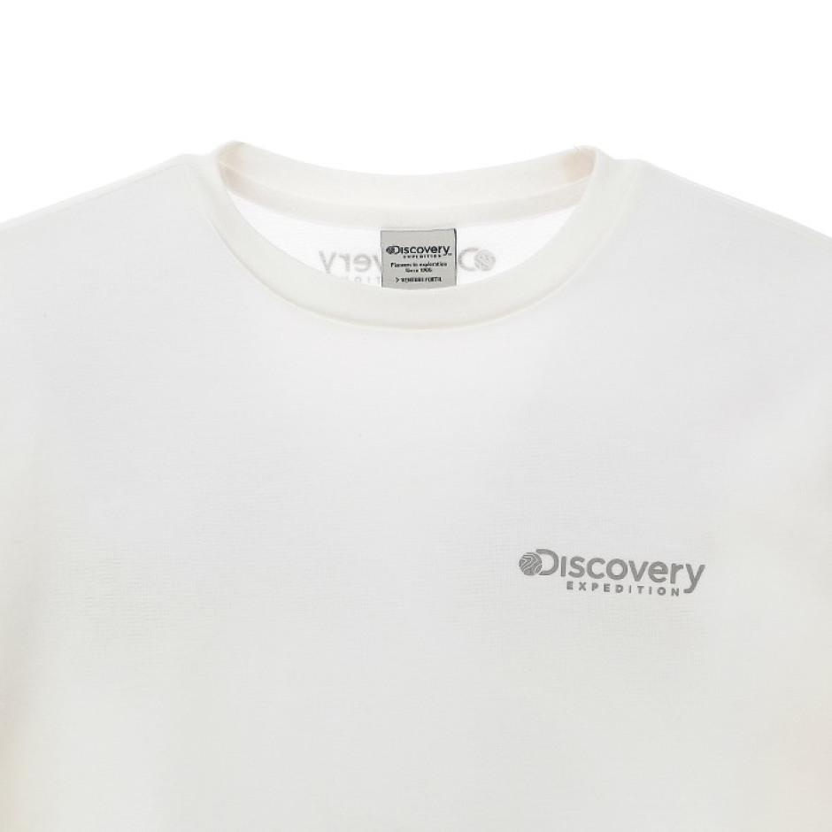 그래픽 포인트 라운드 티셔츠