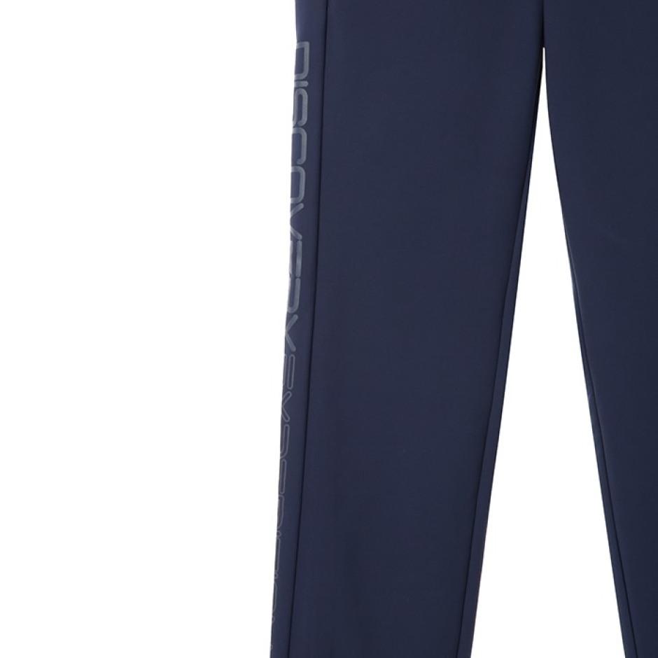 겨울 여성 슬림핏 로고포인트 본딩 팬츠