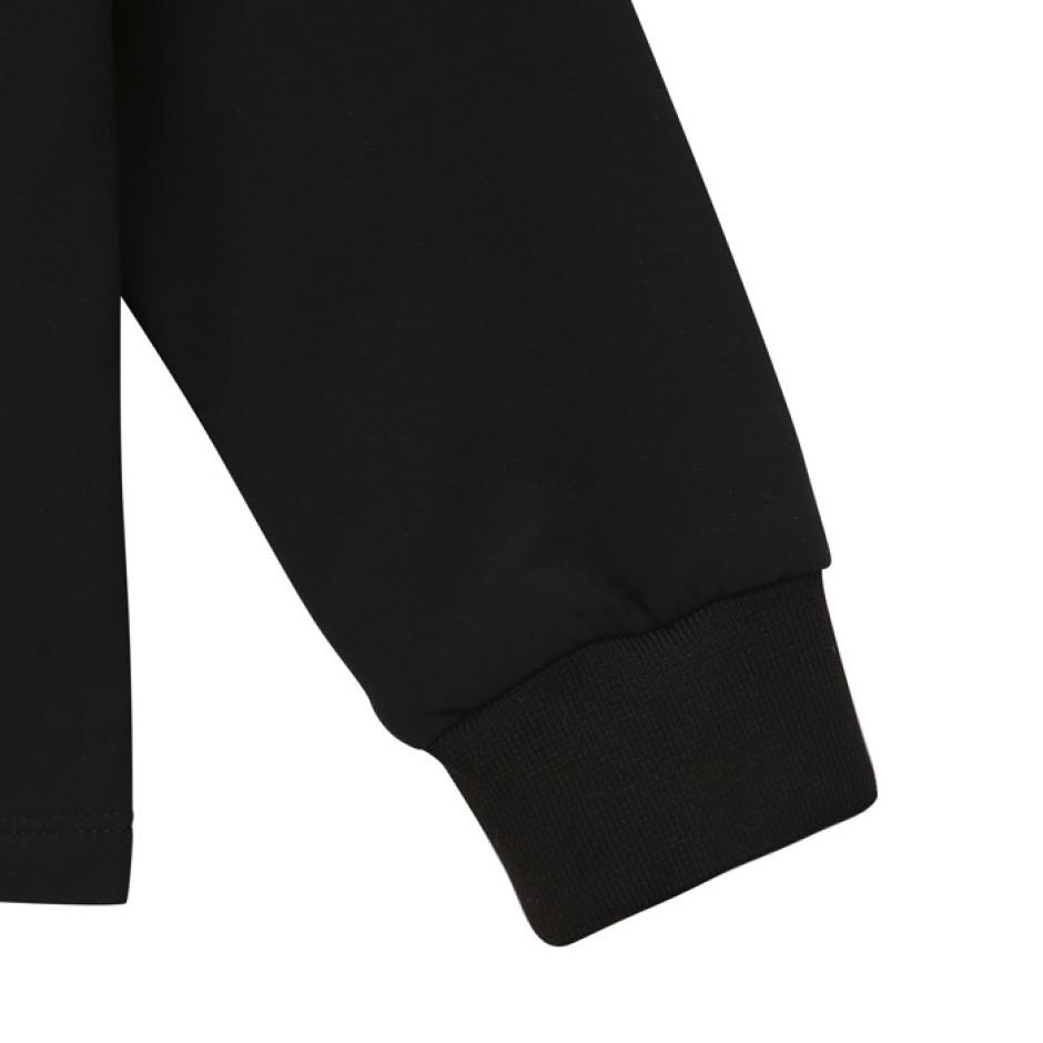 니트 라이크 우븐 트레이닝 자켓