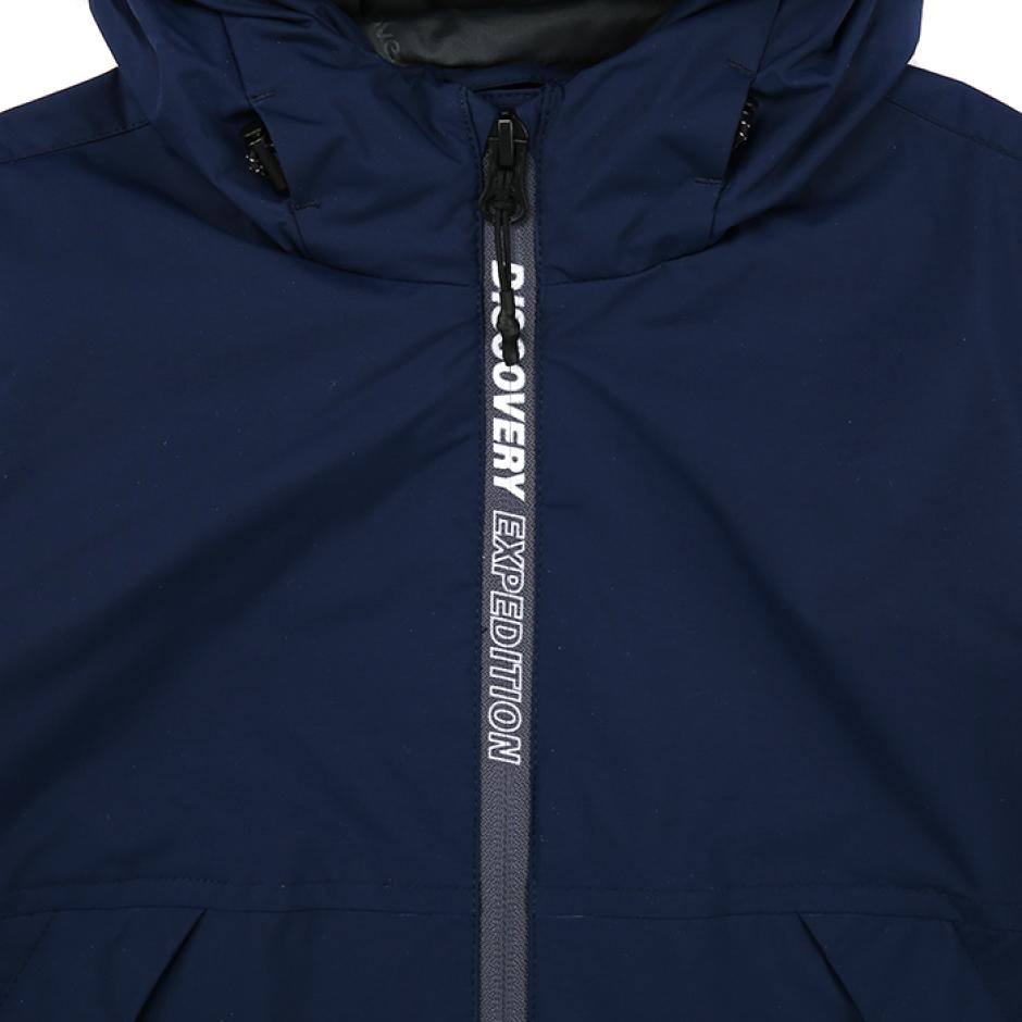 지퍼포인트 후드 방풍 자켓