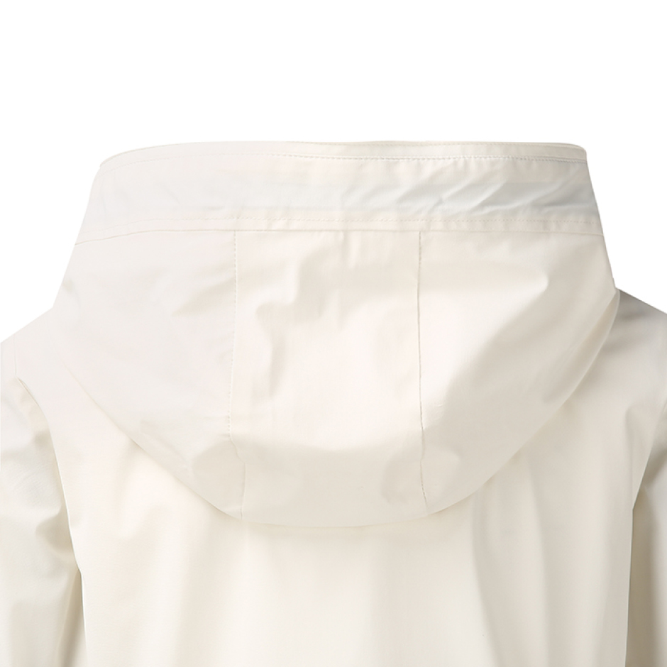 테이핑 후디드 방풍자켓