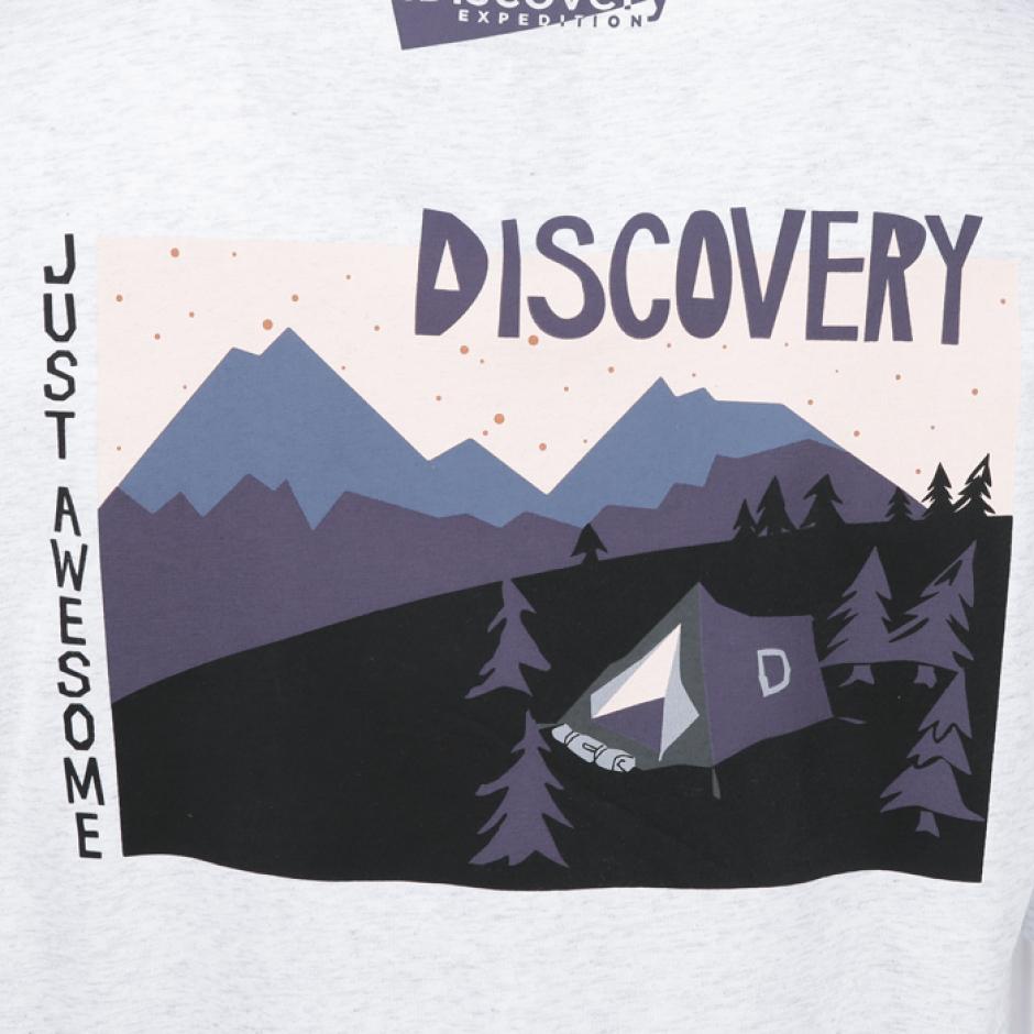 디스커버러 원정대 백그래픽 반팔티셔츠
