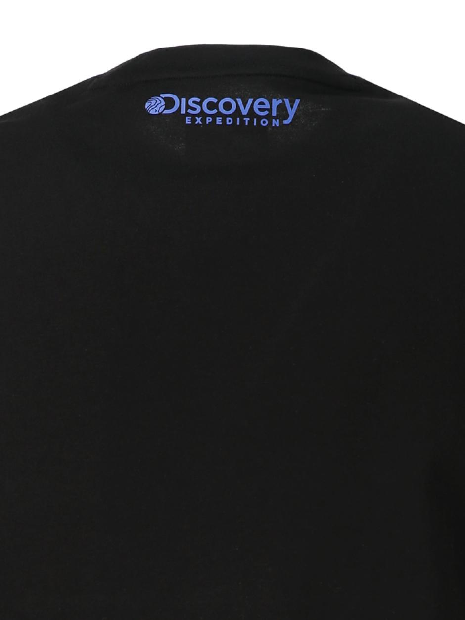디스커버러 긴팔 라운드 티셔츠