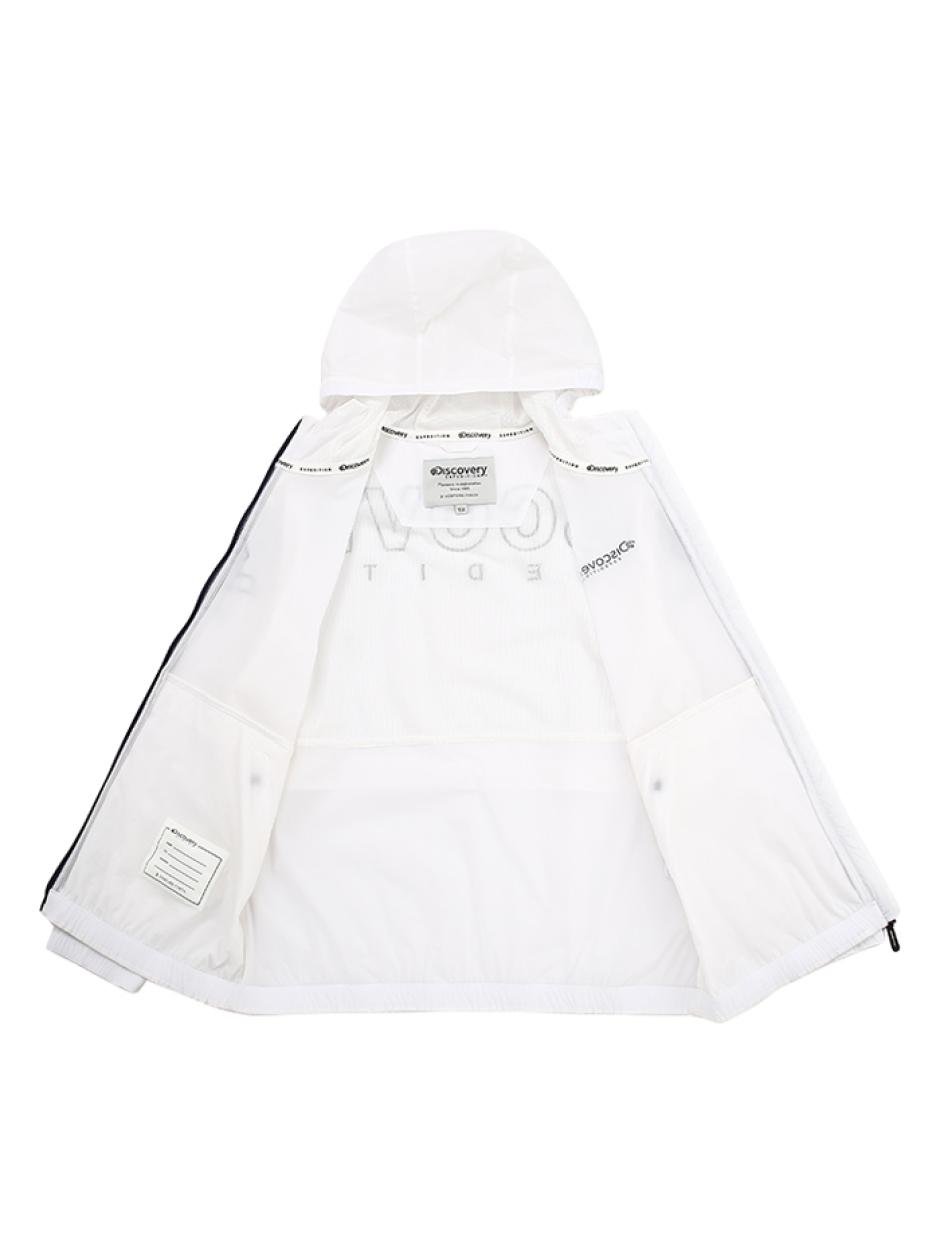 키즈 로고포인트 후디 방풍자켓