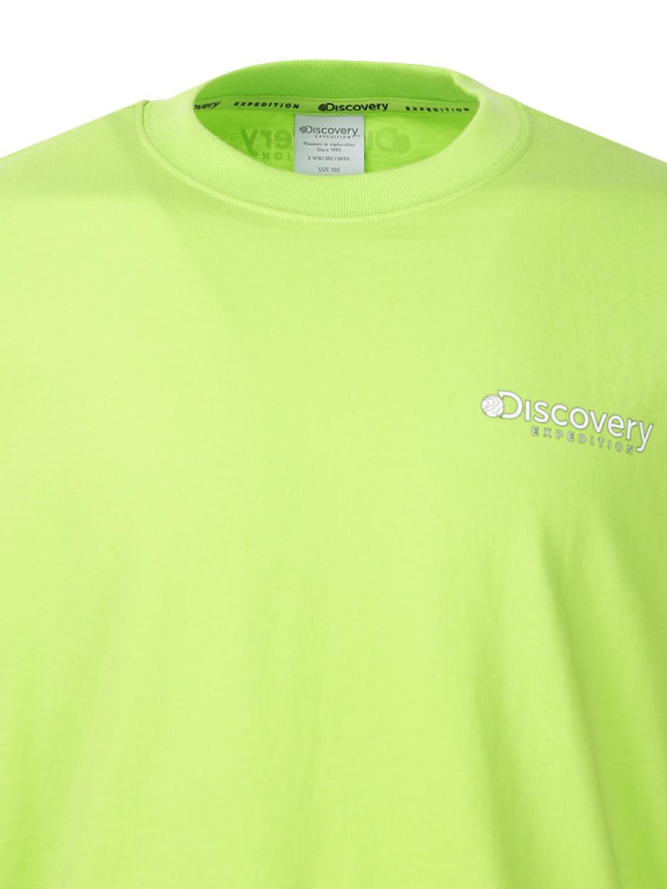 덴버(DENVER) 긴팔 라운드 티셔츠