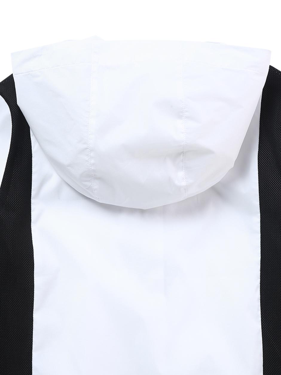 키즈 경량 솔리드 후디 방풍자켓
