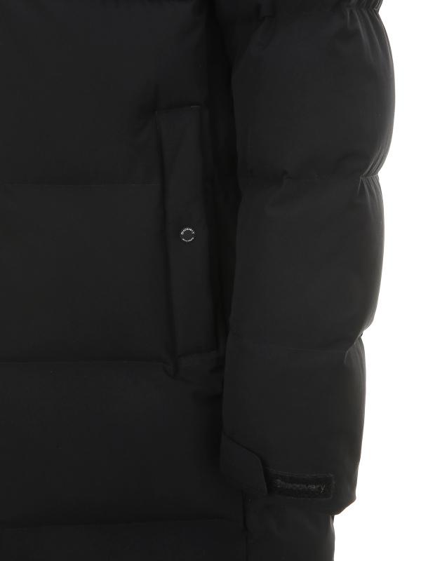 디스커버리 익스페디션(DISCOVERY EXPEDITION) 레스터 G 여성 스몰로고 벤치 다운자켓(BLACK)