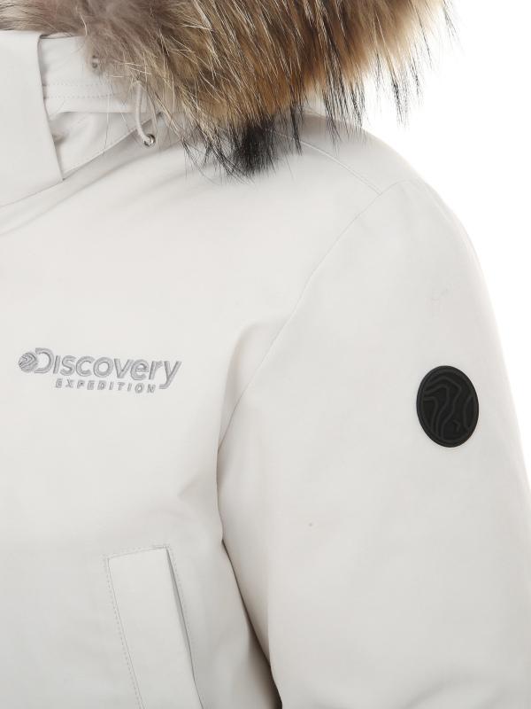 디스커버리 익스페디션(DISCOVERY EXPEDITION) 숏 마운틴쿡 여성 다운자켓(IVORY)