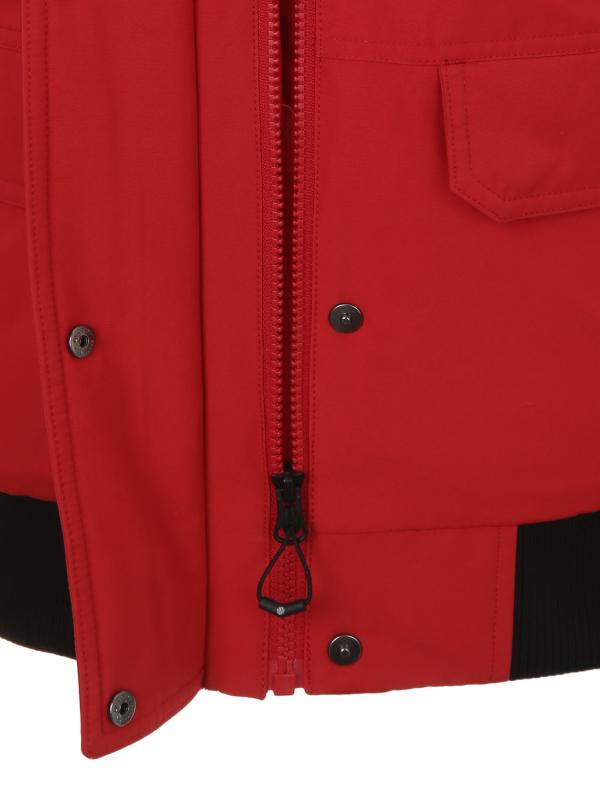 디스커버리 익스페디션(DISCOVERY EXPEDITION) 숏 마운틴쿡 여성 다운자켓(RED)