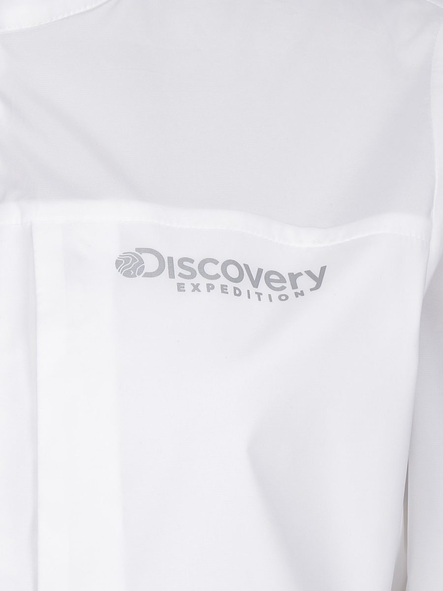 디스커버리 익스페디션(DISCOVERY EXPEDITION) Hybrid 패커블 여성 바람막이(O/WHITE)