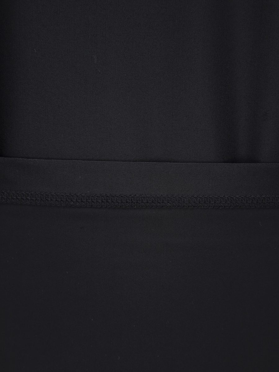 디스커버리 익스페디션(DISCOVERY EXPEDITION) 루즈핏 남성 하이넥 래쉬가드 (BLACK)
