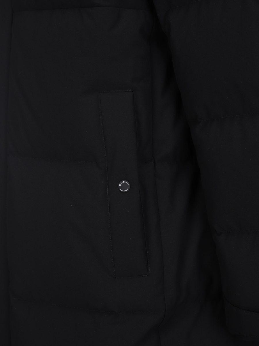 디스커버리 익스페디션(DISCOVERY EXPEDITION) 레스터G 남성 구스다운 롱패딩 (BLACK)