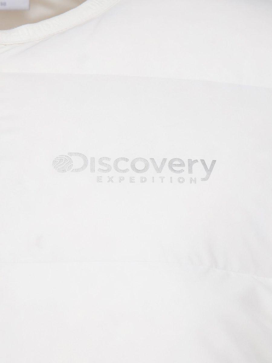 디스커버리 익스페디션(DISCOVERY EXPEDITION) 픽토르 여성 튜브 구스다운 경량패딩 (CREAM)