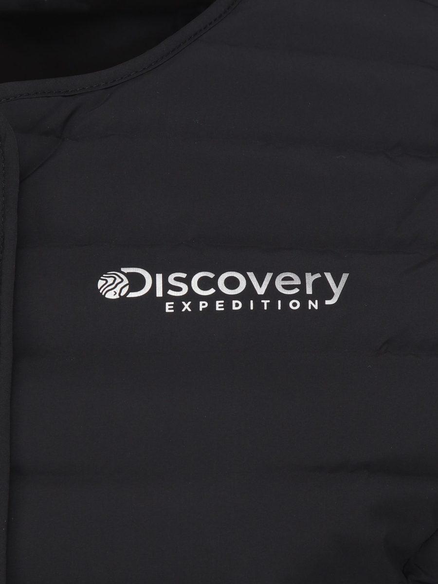 디스커버리 익스페디션(DISCOVERY EXPEDITION) 픽시버G 여성 튜브 구스다운 경량 패딩베스트 (BLACK)
