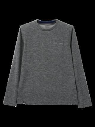 [남성]뒷넥 로고포인트 라운드 티셔츠