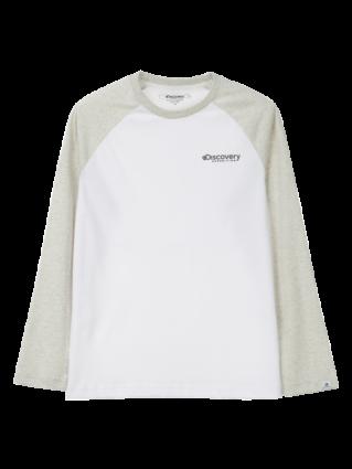 [공용]라글란소매 라운드 티셔츠