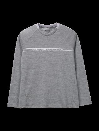 [여성]로고플레이 베이직 라운드 티셔츠
