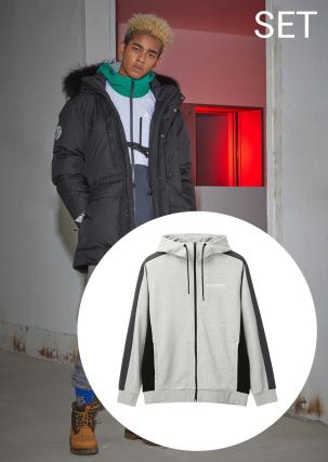 [남성]무스카(MUSCA) RDS 다운자켓+빅로고형 트레이닝 자켓
