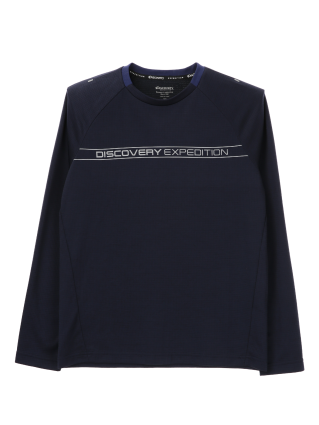 [남성]로고플레이 베이직 라운드 티셔츠