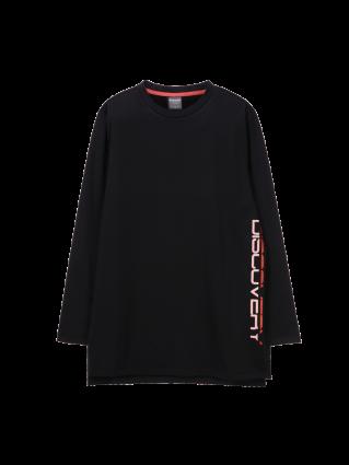 [여성]여성 롱기장 라운드 티셔츠