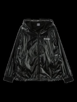 [여성]메탈소재 후디 방풍 자켓