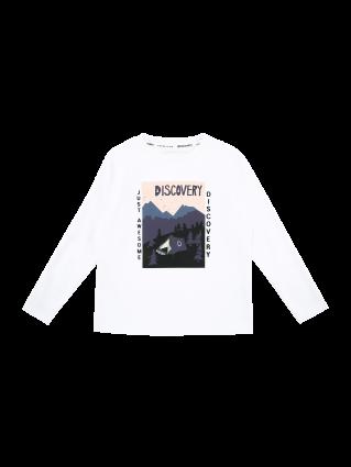 [키즈]키즈 디스커버러 긴팔 라운드 티셔츠