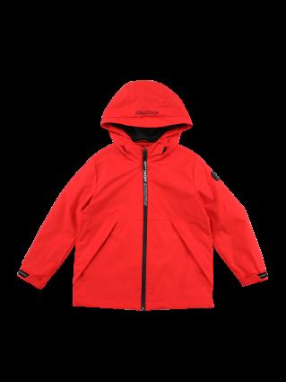 [키즈]지퍼포인트 후드 방풍 자켓