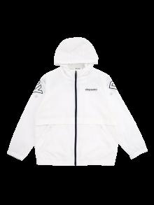 [키즈]키즈 로고포인트 후디 방풍자켓